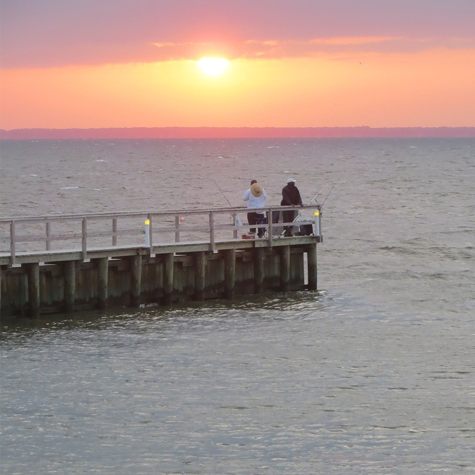 Fishing at Dawn