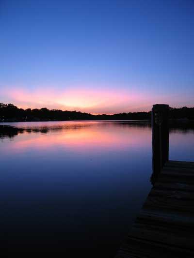 Blackwalnut Creek Sunset