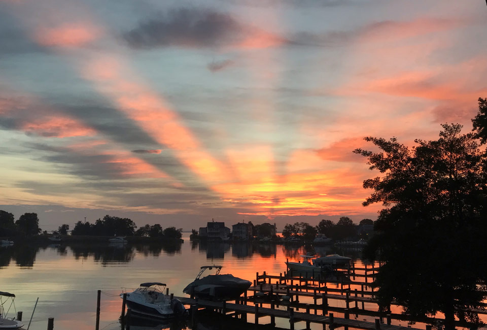 Oyster Harbor Sunrise